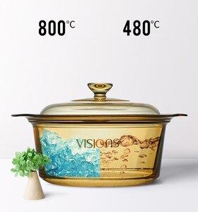 Прозрачная стеклянная кастрюля для супа, электрическая керамическая плита, крышка стеклянной чаши, инструменты для приготовления пищи руч...