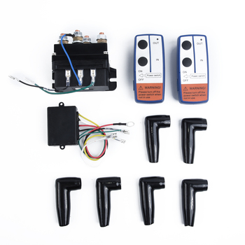 Contactor 500A Winch Remote Kit Control 12V Twin Wireless High Quality