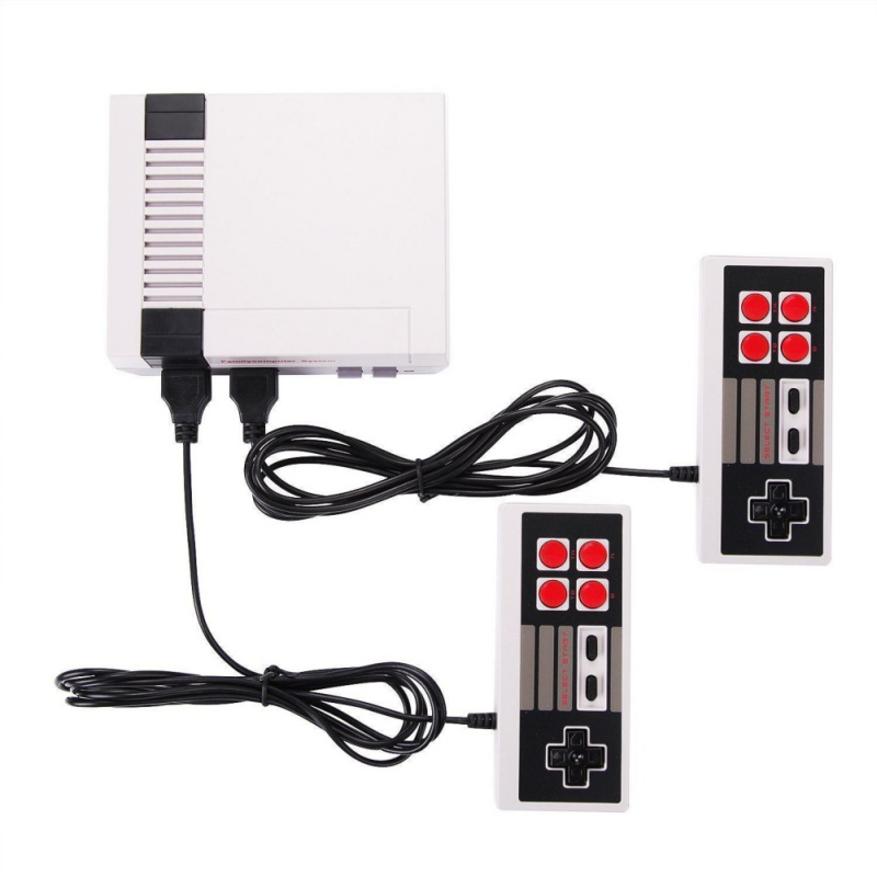 Retro 620 Video Games Console Double Players 8 Bit Support AV Out Family For TV Retro Games Controller