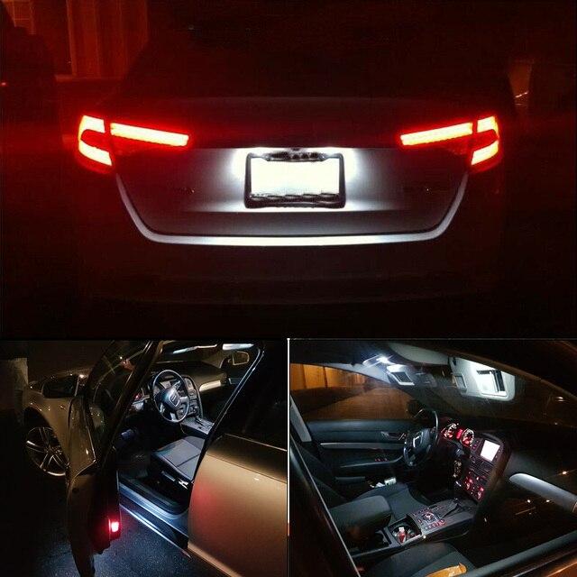 9Pcs Canbus Error Free Car LED Light Bulb Lamp Interior Kit For 2014-2018 BMW i3 Glove Box Dome Map Light 3