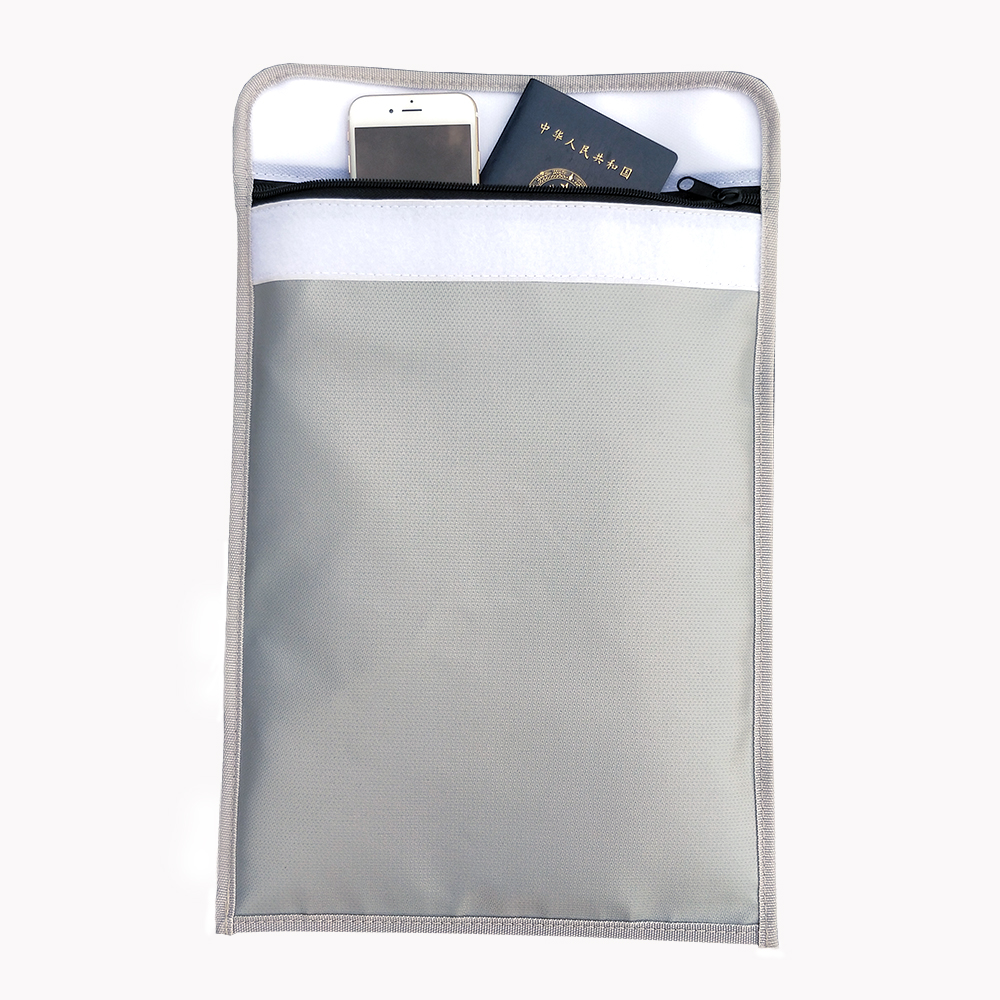 Home Safe Security Fireproof Document Bag 15 X 11 Inches Large Fire Resistant Envelope Pouch For Valuables