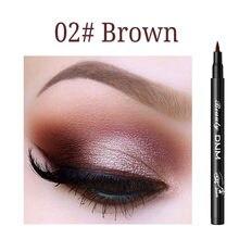 Líquido colorido delineador maquiagem olho preto lápis 12 cor marrom olhos esfumaçados olhos de gato 24 h maquiagem dos olhos de longa duração