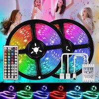 WIFI LED Bar Streifen Lichter 1-10m 3528 RGB SMD Flexible Band Keine Wasserdicht Lichter Klebeband Diode DC 12V Smart Fernbedienung für TV