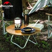 Nuevo https://ae01.alicdn.com/kf/H4974be830ffb4d29a6b868d4c27aaa81E/Naturehike Mesa Redonda plegable de bambú ultraligera portátil al aire libre Camping Picnic barbacoa Mini Mesa.jpg