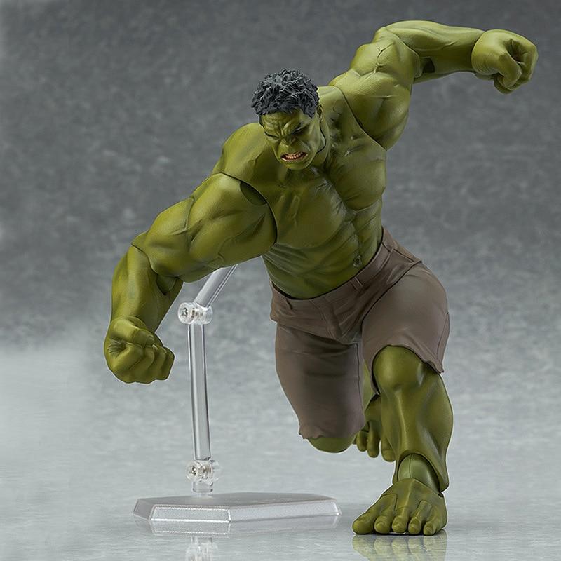 Figma 271#  Marvel The Avengers Hulk PVC Action Figure Model 17cm