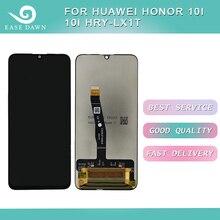 Dla Huawei Honor 10i 10I HRY LX1T LCD wyświetlacz IPS ekran LCD + digitizer panel dotykowy zgromadzenie dla Huawei wyświetlacz oryginalny