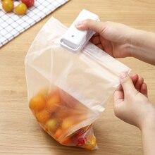 Портативная ручная мини-машина для запечатывания Термоупаковщик укупорка еды закуска пластиковые пакеты герметичная упаковка бытовые контейнеры гаджеты
