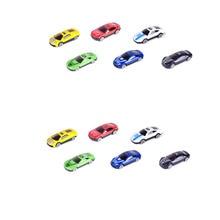 15pcs Truck Transport Car Carrier Mini Transporter Vehicle Model Kids (Random Color)