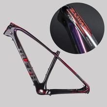 цена на TRIFOX Carbon Mountain Bike Frame mtb 27.5/29er 31.6mm MTB carbon bicycle frame Mountain Bike Frame used for racing bike cycling