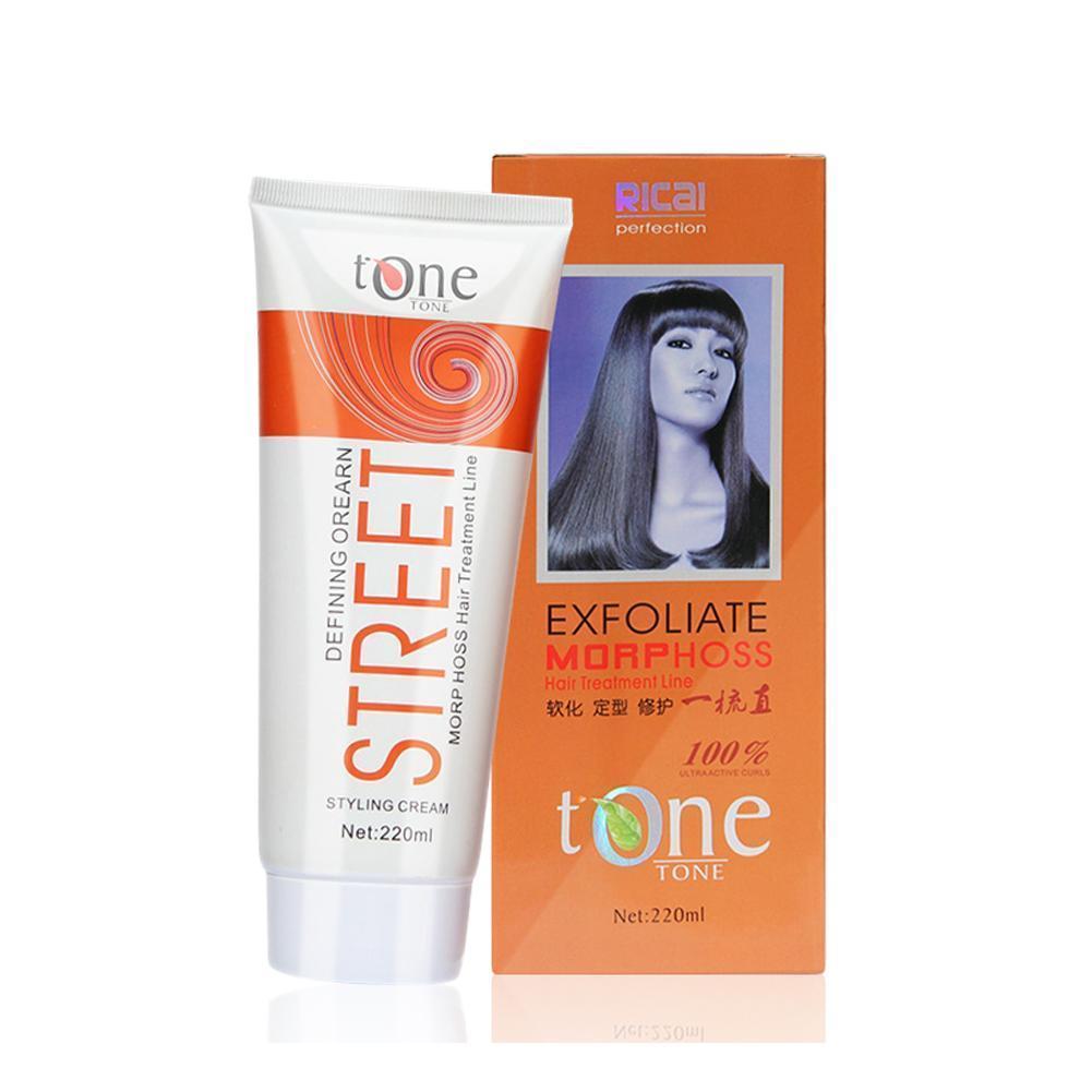 220g Straight Hair Cream Hair Straightening Protein Salons Hair Repair Hair Smoothing Damage Treatment Moisturizer I1H4