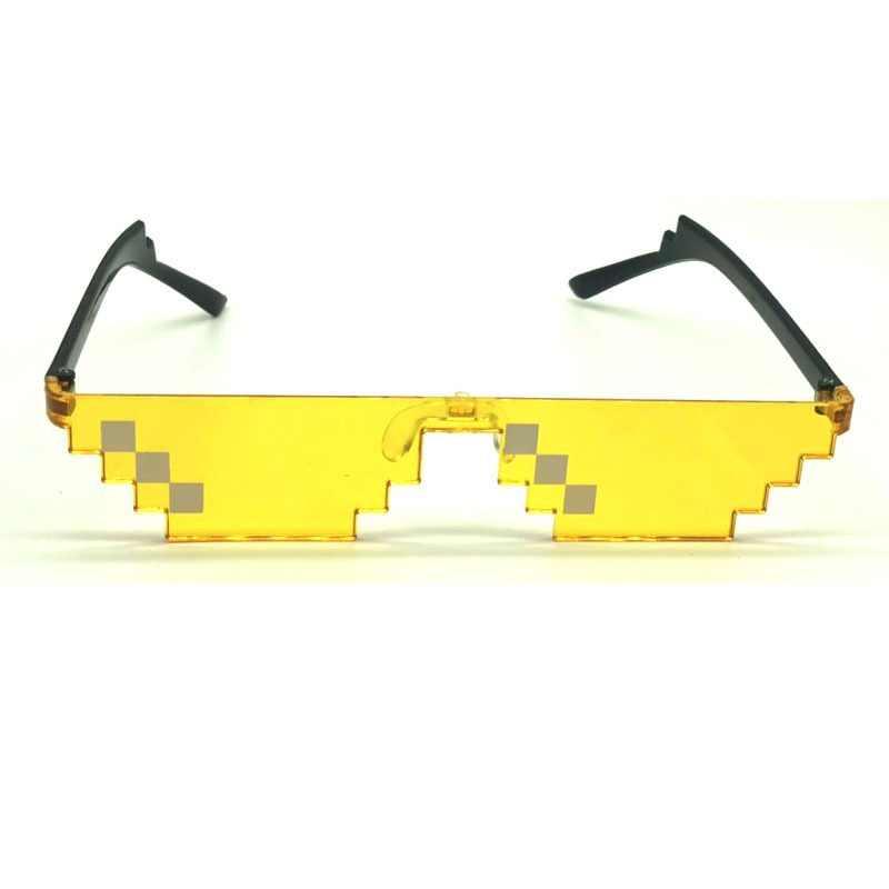 מצחיק פסיפס משקפיים Farmeless צל משקפי שמש מסיבת קוספליי תלבושות למבוגרים וילד