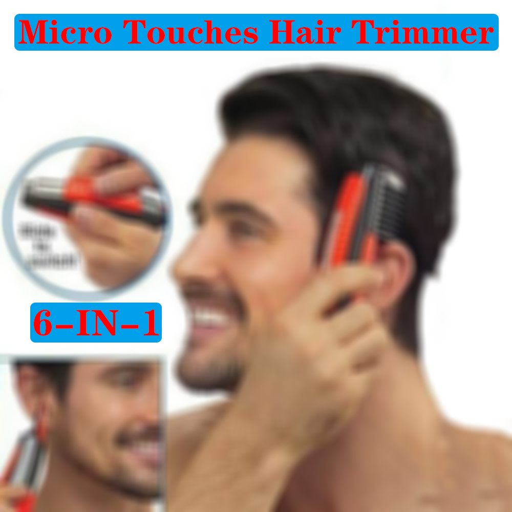 Domom 2-in -1 Hair Clipper, Professional Painless Men's Hair Clipper, Suitable For Nose, Ears, Eyebrows, Neck, Beard And