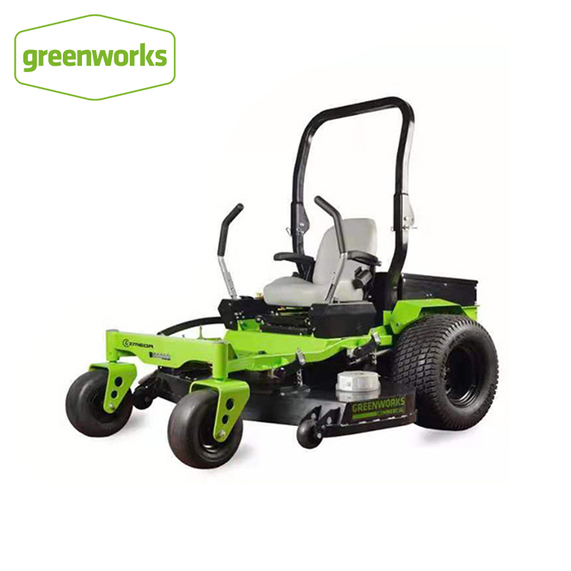 Greenworks 82V Electric Lawn Mower 168Ah 4 Hours Battery Life Large Capacity Lithium Battery Driver Zero Turn Riding Mower