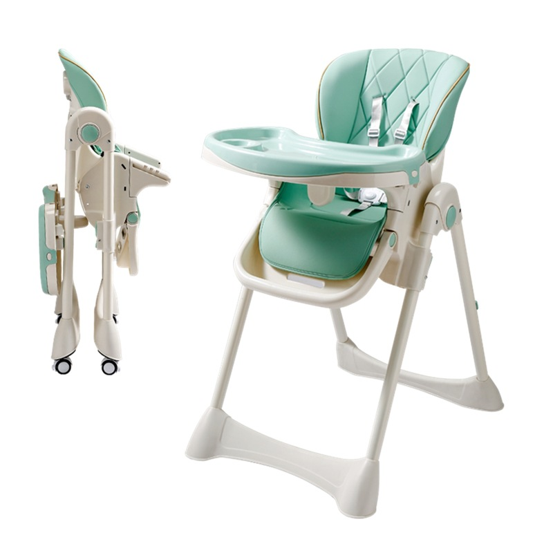 Foldable Children Dining Chair Baby Chair Multifunctional Baby Dining Table Chair Child Multifunctional Portable Dining Chair