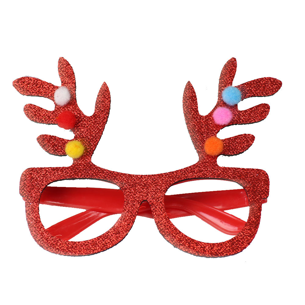 Adult Novelty Xmas Fancy Dress Glasses Santa Hat Antlers /& Christmas Trees Gift