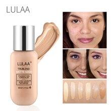 LULAA Makeup Foundation Liquid Long-lasting Full Coverage Face Concealer Base Matte Cushion Cosmetic BB CC Cream