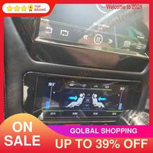 Tablero de aire acondicionado para coche Maserati GT/GC GranTurismo, reproductor Multimedia con pantalla negra Android 9,0, de fibra de carbono, Unidad de navegación GPS