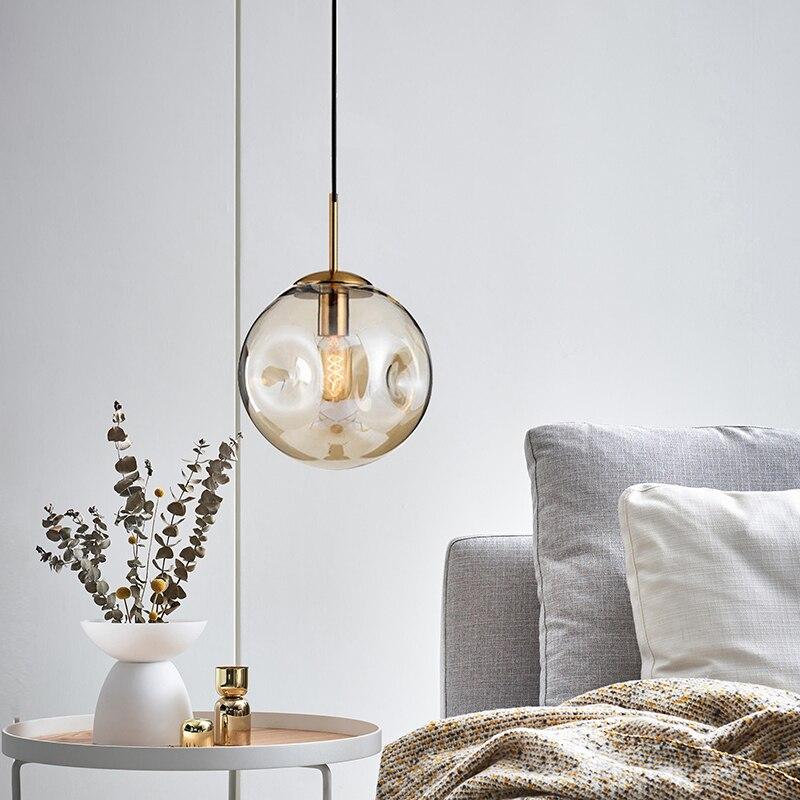 Nordic Pendant Lights Rope  Restaurant  Home Decoration E27 Light Fixture Luminaria Pendente