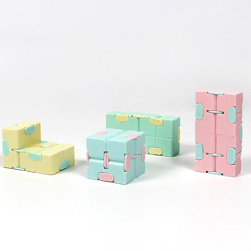 Puzzle Toy Maze-Toy Magic Cube Stress Fingertips Infinity Game Square Four-Corner Funny img3