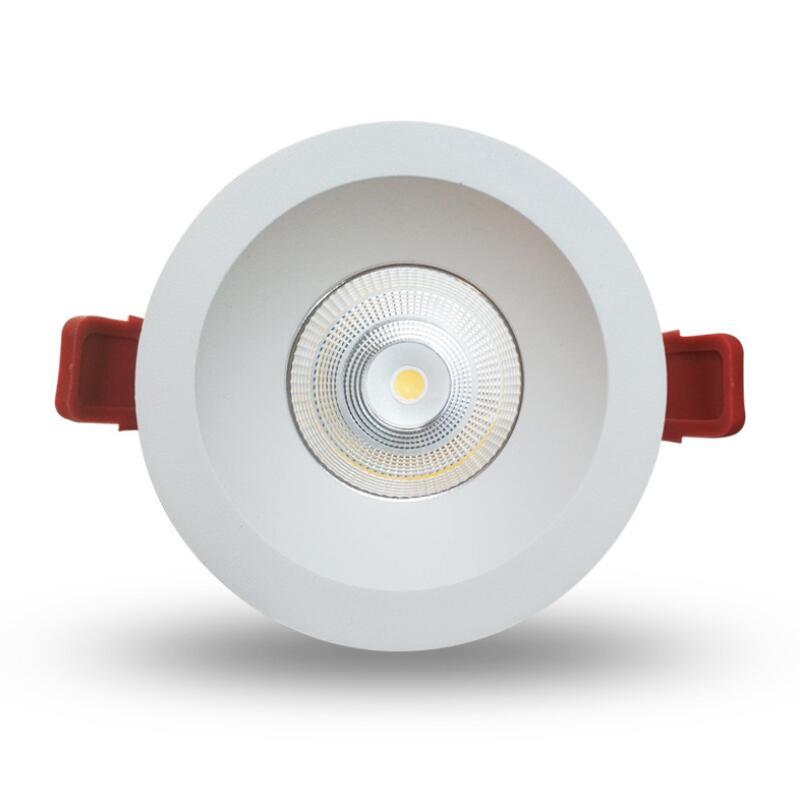 IP65 წყალგაუმტარი 15W COB LED განათების შუქნიშანი LED ჭერის ნათურა უკანა LED განათების AC110V 220V სახლის განათების