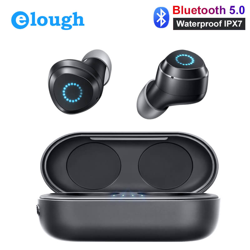 Mini Wireless Headphones Bluetooth Earphones IPX7 Waterproof TWS With Mic Handfree Headset Sport Touch Ture Wireless Earbuds