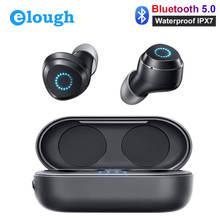 Mini Wireless Headphones Bluetooth Earphones IPX7 Waterproof TWS With Mic Handfree