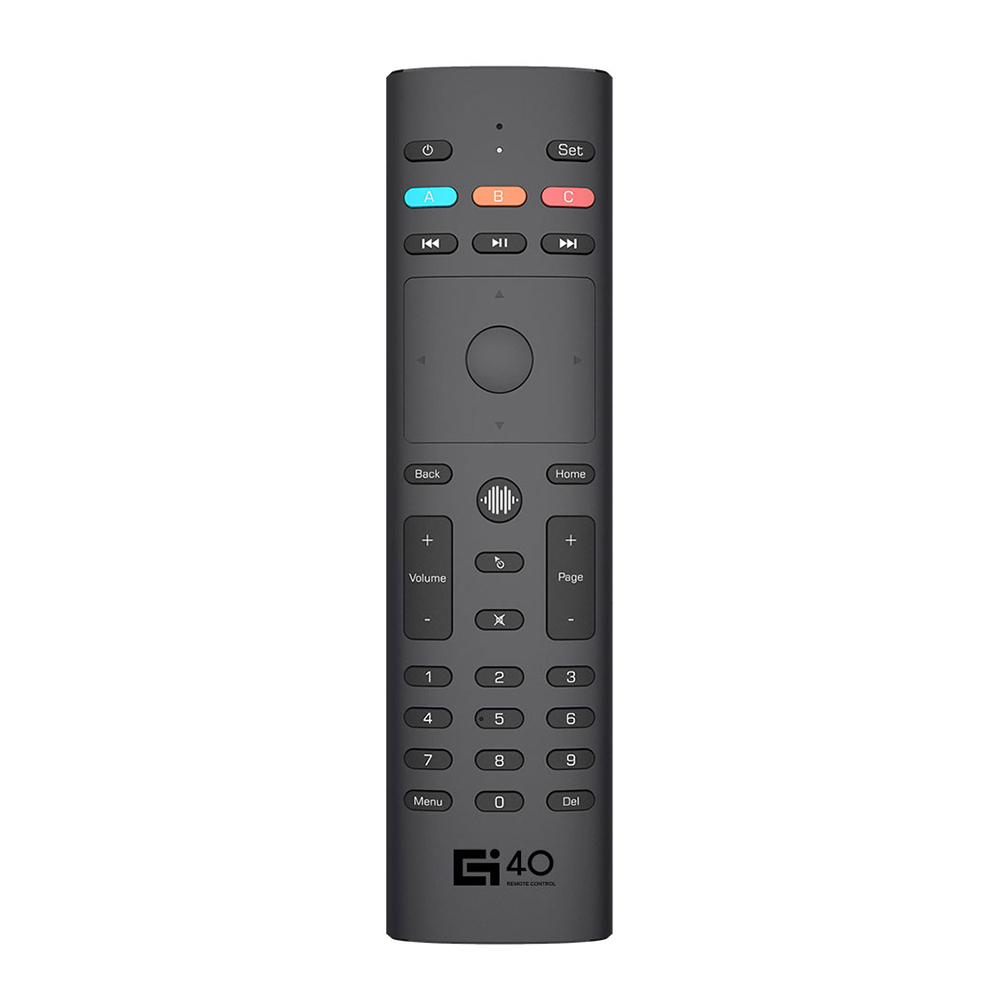 Wireless Flying Squirrel Remote 6-Axis Gyro Voice Control Sensing Universal Mini Keyboard Remote Control For PC Android TV Box