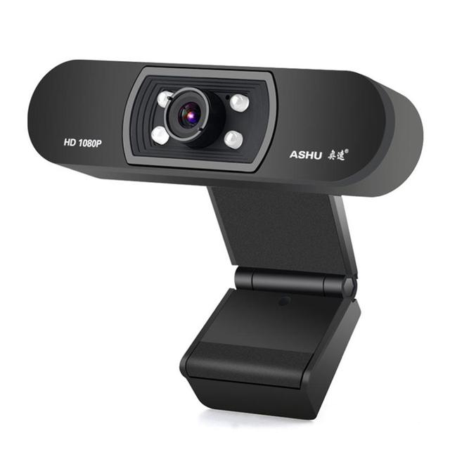 In stock Webcam Usb Full Hd 1080p 1920x1080 Web Camera per Computer Smart Android Tv Gaming Pc Win10 Laptop 3