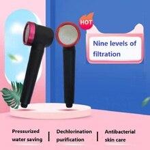 Purification Skin Care Pressurized Water-Saving Handheld Shower Head Detachable Design Universal Interface Bathroom Accessories