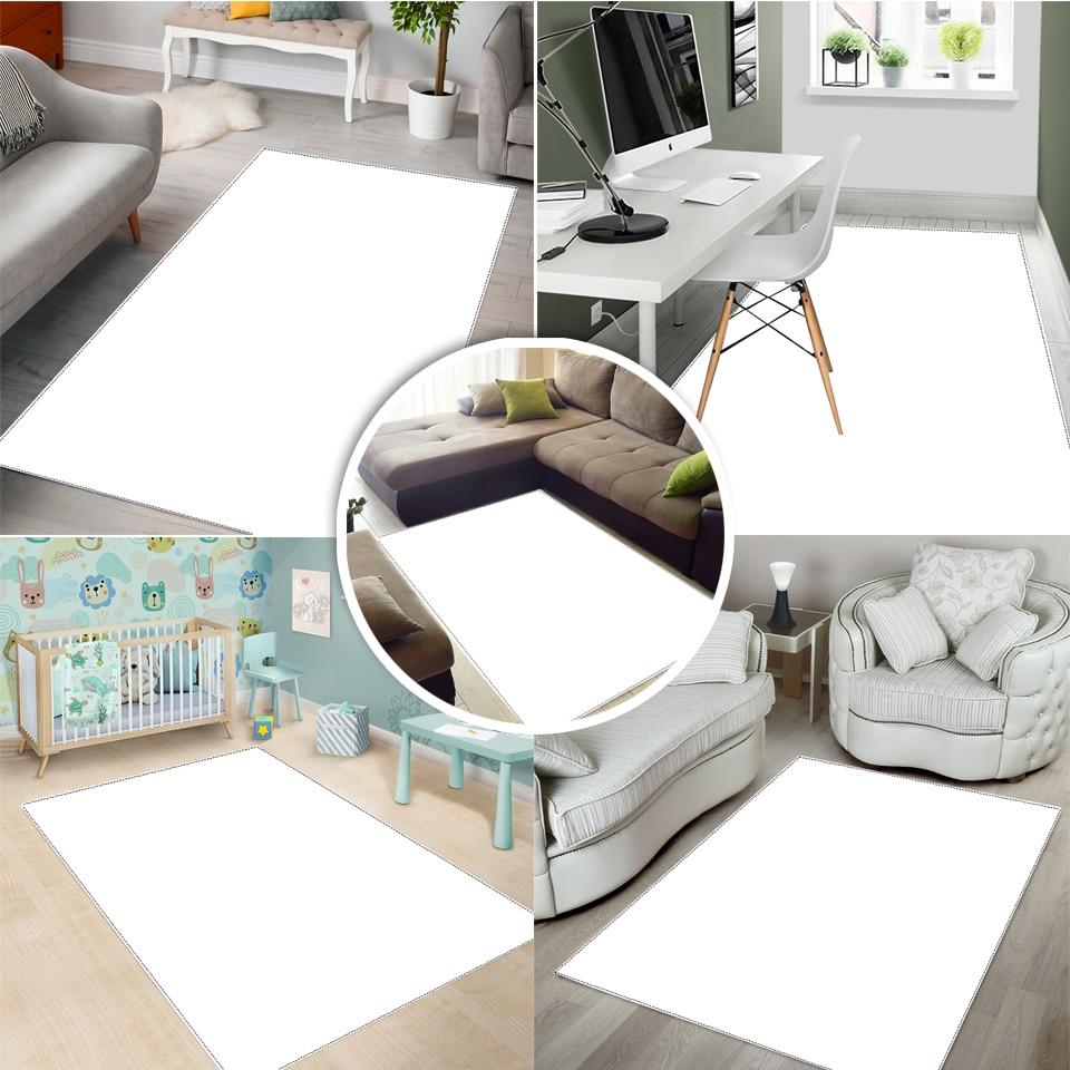 Map Rug Home Square Black Bedroom/Kitchen/Dining Room RUG