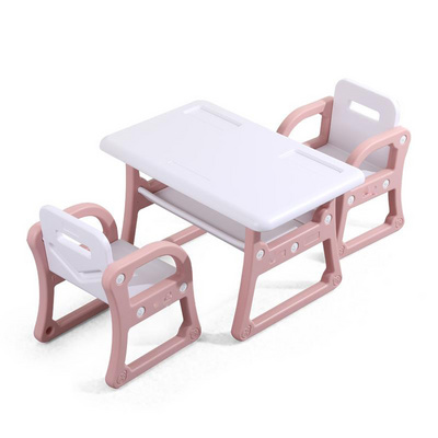 Kindergarten Chair Write With Children Table Chair Suit Baby Painting Learning Plastic Toys Desks And Chairs