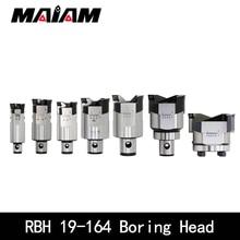 1pc CNC Adjustable RBH double-edged BT30 BT40 SK40 Tool holder rbh boring bar boring cutter boring handle LBK rough boring head