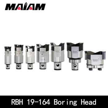 1pc CNC Adjustable RBH double-edged BT30 BT40 SK40 Tool holder rbh boring bar cutter handle LBK rough head - sale item Machinery & Accessories