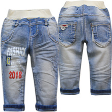 Baby Jeans Pants Trousers Kids Casual Blue Autumn Fashion New Denim Spring 4006 Nice