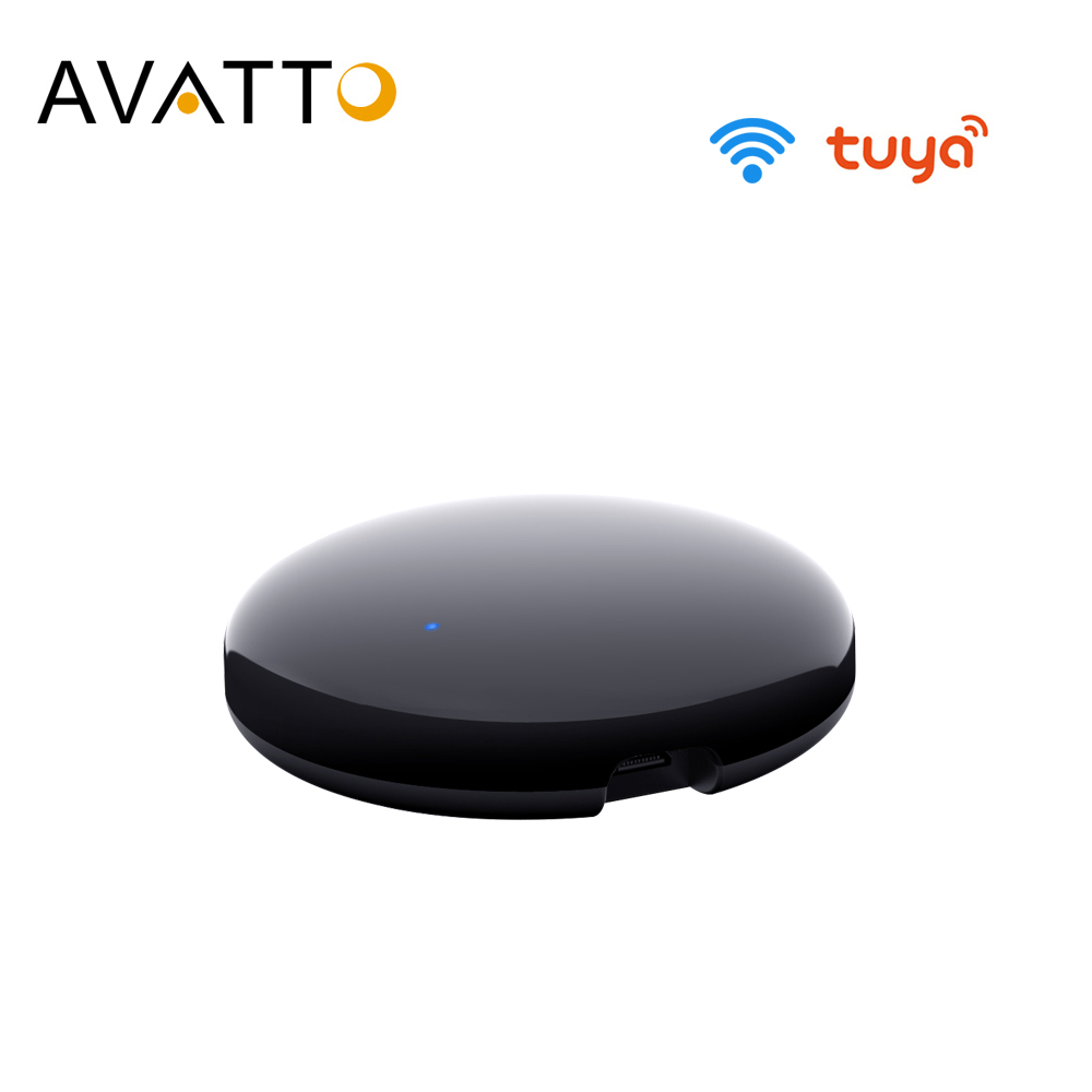 AVATTO Tuya WiFi IR Remote Control for Air Conditioner TV Smart Home Infrared Universal Remote Controller For AlexaGoogle Home