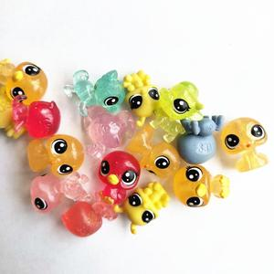 Image 4 - Figurines danimaux domestiques, jouet daction de marché, 50 pièces/sac 1 à 2cm, jouet chat mignon, cheval, lapin, enfant