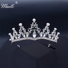 Silver Tiara Quincea\u00f1era Tiara Zirconia Silver Tiara Crown Wedding Headpiece Silver Tiara Headpiece. Crystal Tiara FAST SHIPPING!!
