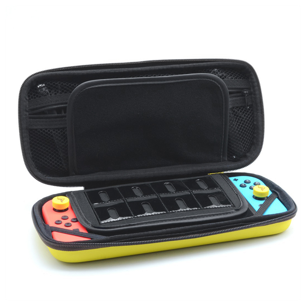 iBen Portable Shell Case For NS Nintend Switch EVA PU Water-Resistent Carrying Storage Bag For Switch Console Accessories (17)
