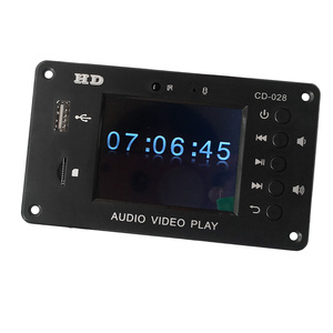 Image 4 - APE Bluetooth LCD MP3 MP4 MP5 Audio Video Module Support Hard Disk Time Display Alarm USB SD FM Radio Flac RMVB Decording Board