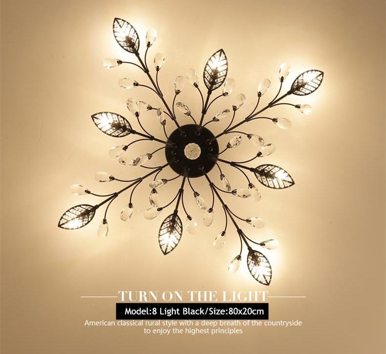H49782cfba59443269acb36d058a3aa80u TRAZOS New item fancy ceiling light LED Crystal ceiling lamp modern lamps for living room lights,AC110-240V DIY Crystal lighting