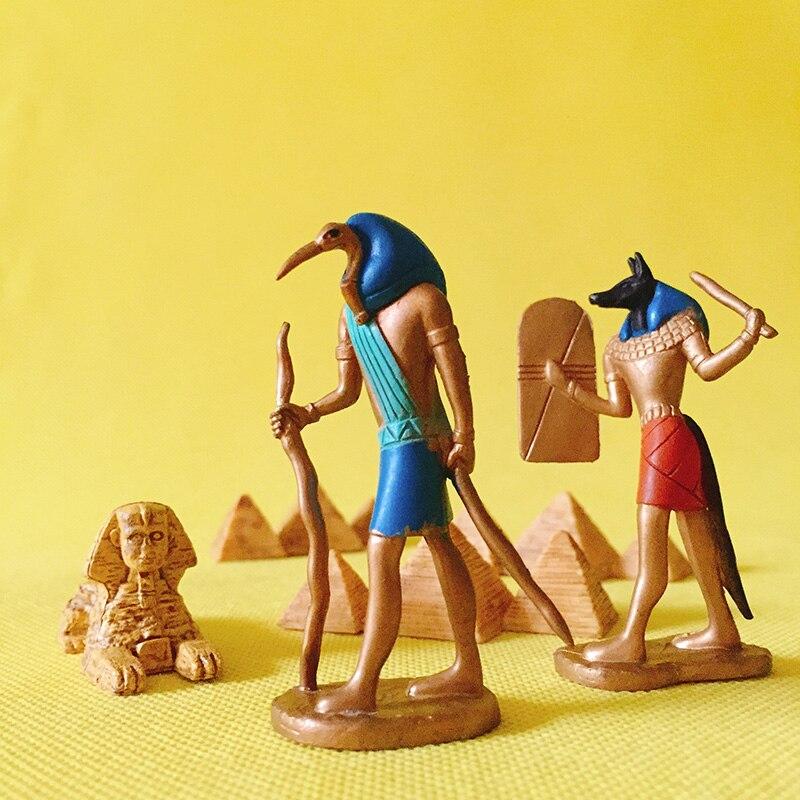 Sale~1 Pcs Egypt Luna/pyramid/doll House//miniatures/cute/fairy Garden Gnome/moss Terrarium Decor/table Decor/figurine/statue