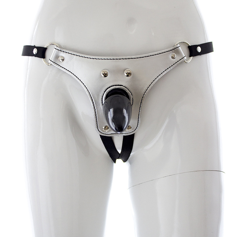 Female Admirable Butt Plug Chastity Belt Sexy Backyard Masturbation Device Adult Products Wholesale