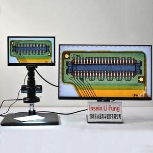 "Image 5 - كامل HD 1080P 60FPS مستشعر سوني 11.6 ""المتكاملة عرض قياس المجهر كاميرا HDMI عدسة تكبير الفيديو USB تخزين PCB إصلاح"