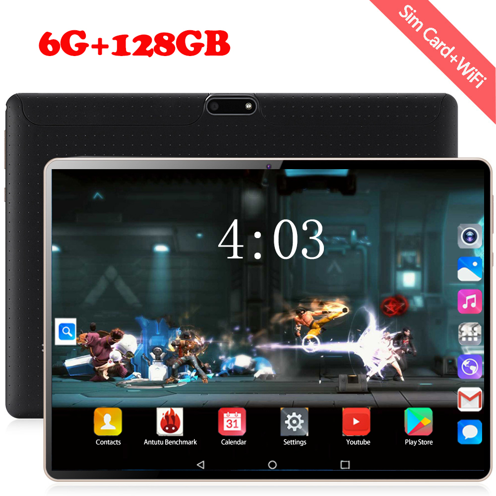 Free Shipping 10 Inch 3G 4G FDD LTE Tablet Pc Android 8.0 OS 6GB RAM 128GB ROM Octa Core 1280*800 IPS Stmart Tablets Pcs 10 10.1