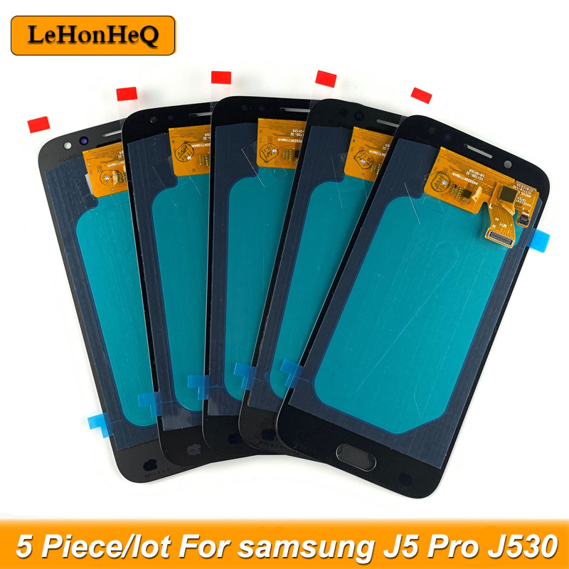 5 Piece/lot <font><b>J5</b></font> Pro <font><b>2017</b></font> <font><b>display</b></font> For <font><b>Samsung</b></font> <font><b>Galaxy</b></font> <font><b>J5</b></font> <font><b>2017</b></font> J530 J530F LCD <font><b>Display</b></font> Touch Screen Digitizer Assembly lcd image
