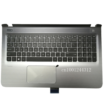 New Replacement for HP Pavilion 15-P 15T-P 15Z-P Palmrest Upper Case Keyboard Bezel Cover US Black 762529-001