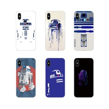 Für Samsung Galaxy S2 S3 S4 S5 Mini S6 S7 Rand S8 S9 S10E Lite Plus Zubehör Phone Cases Covers BB8 BB 8 R2D2 Roboter(China)