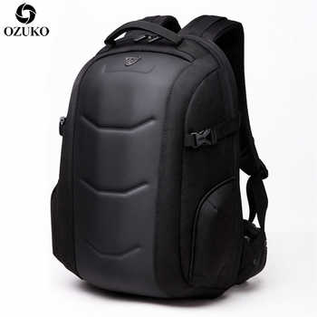 2019 OZUKO Fashion Business Laptop Backpack Men\'s Multifunction Waterproof Oxford Travel Backpack Casual School Bag For Teenager - Category 🛒 Luggage & Bags
