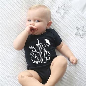 Mono divertido de Juego de tronos para bebés recién nacidos, monos suaves para niños y niñas, el mejor regalo único para Baby shower