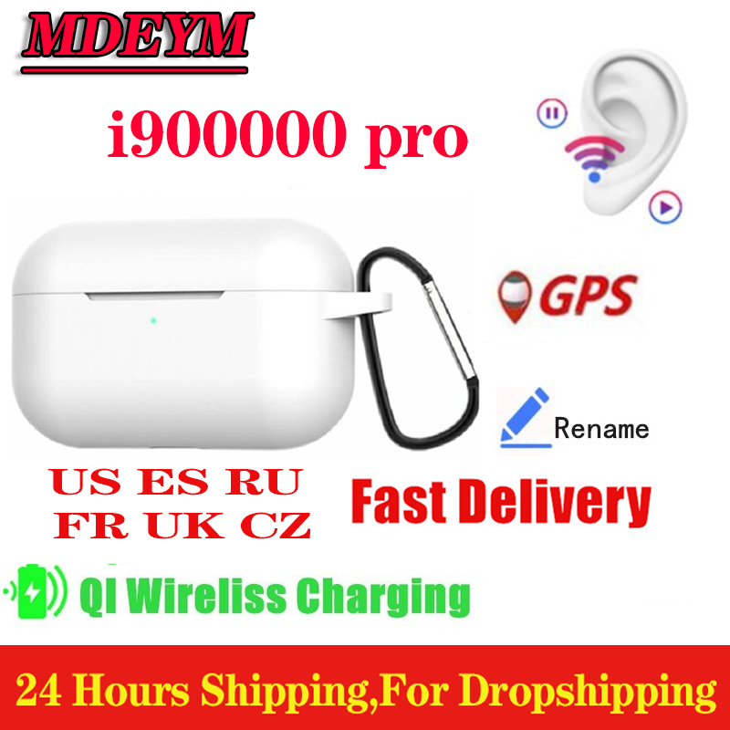 MDEYM i900000 pro TWS Super copy In ear Bluetooth Earphone Stereo Wireless Earbuds <font><b>gps</b></font> rename Stereo Headset PK <font><b>i200000</b></font> TWS image